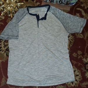 American Eagle Outfitters Half Button Shirt